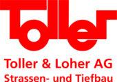 Toller & Loher AG Logo rot_Autokleber